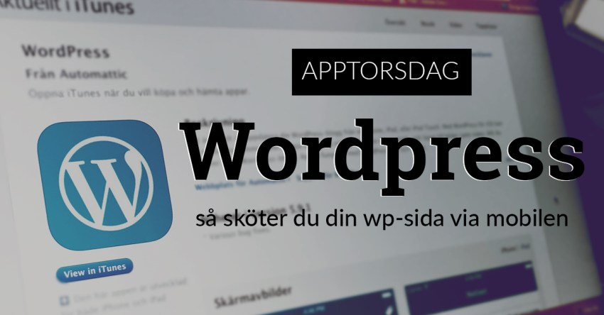 wordpressappen app wordpress