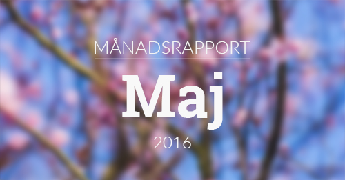 manadsrapport maj 2016 feat