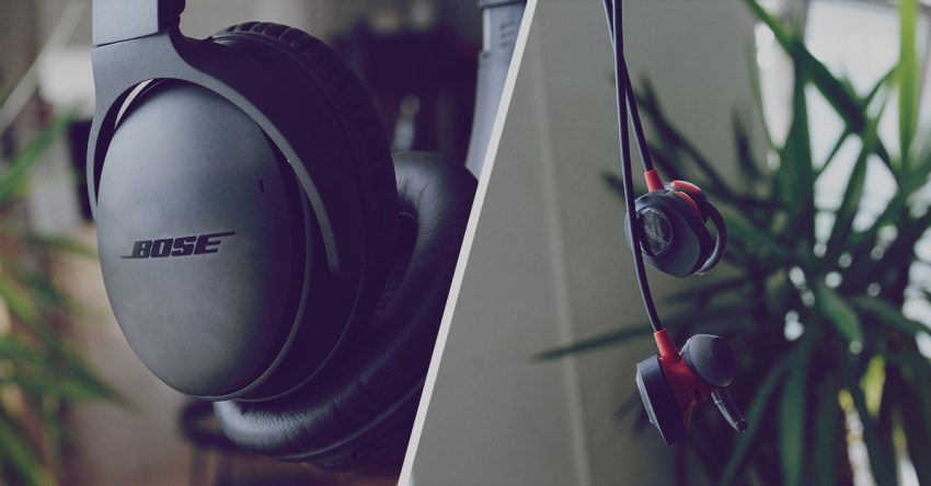 Recension  Bose Quiet Comfort 35   Bose Soundsport (Pulse) - Teknifik 8063f28cdaa12