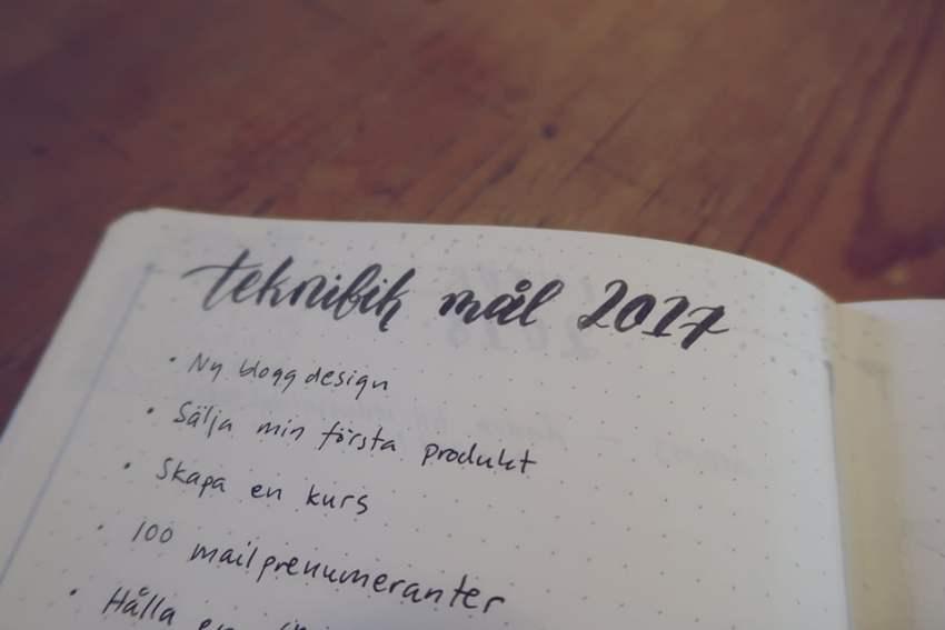 dde7519aade2 Så i början av året satte jag mig och skrev ned några mål för året. Nu när  året är slut är det dags att följa upp och se hur det gick.