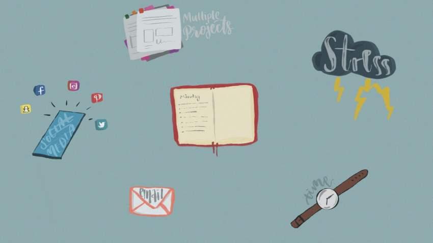 planera tid som frilans egenföretagare kreativt arbete organisera