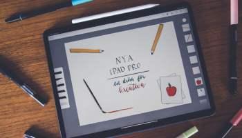 Recension  Nya iPad Pro – en dröm för det kreativa proffset 4d86486b811e4