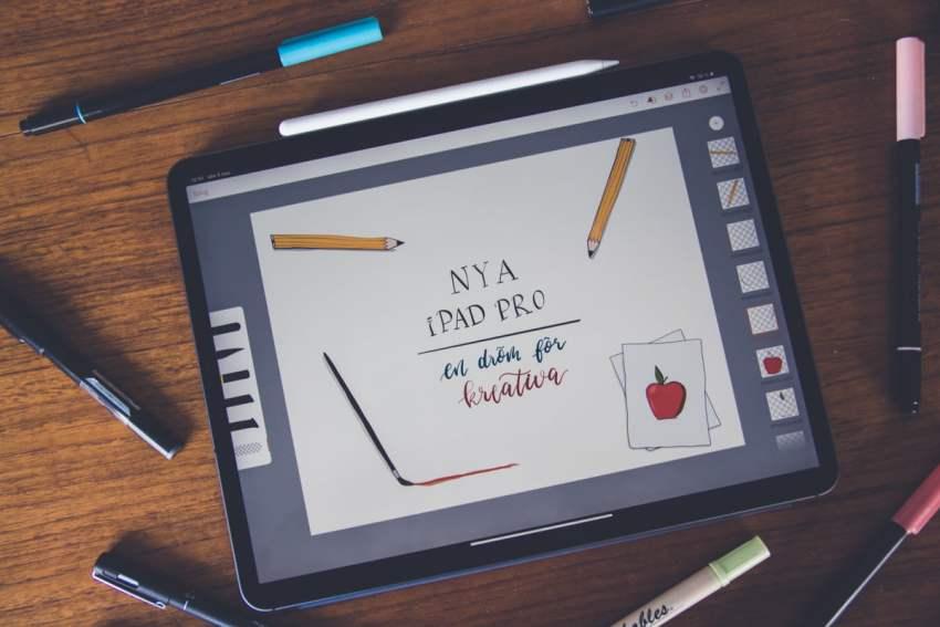 Recension  Nya iPad Pro – en dröm för det kreativa proffset - Teknifik cda13537edcb6