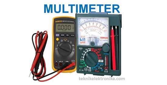 Multimeter Digital dan Multimeter Analog