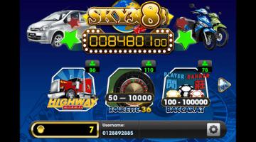Slot Sky3888