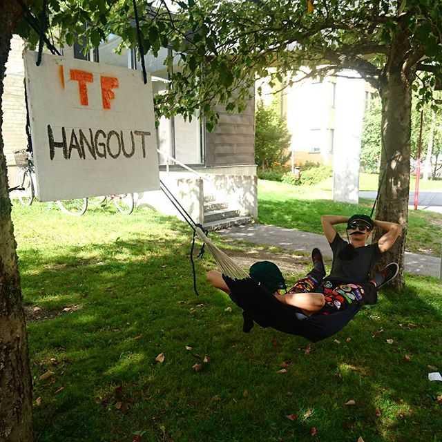 Generalerna pausar i TF:s nya hangout! #tekniskfysik #umu