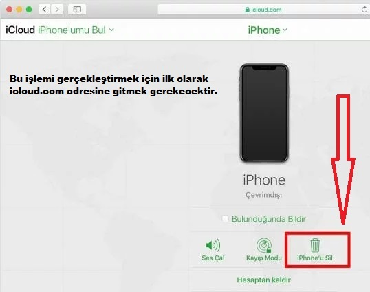 iphone-bul-secenegi-ile-bul-ve-sil