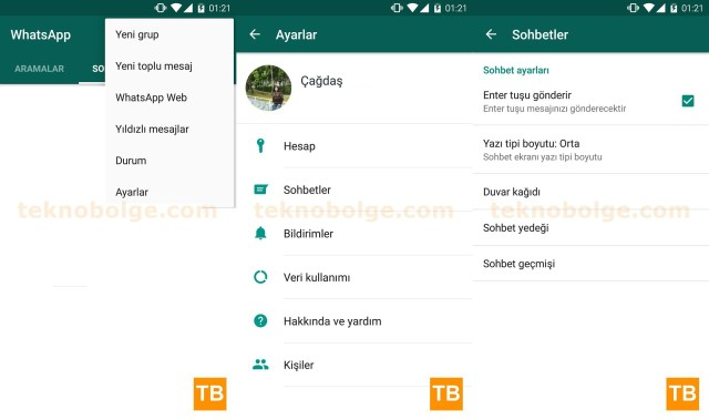 Android WhatsApp Yedekle - 1
