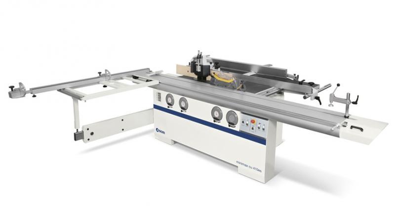 Универсальный многооперационный станок Minimax CU 410ES, производство SCM Италия