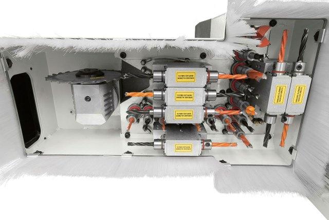Сверлильная группа F16 станка с ЧПУ ACCORD 40 FXM, производство SCM Италия