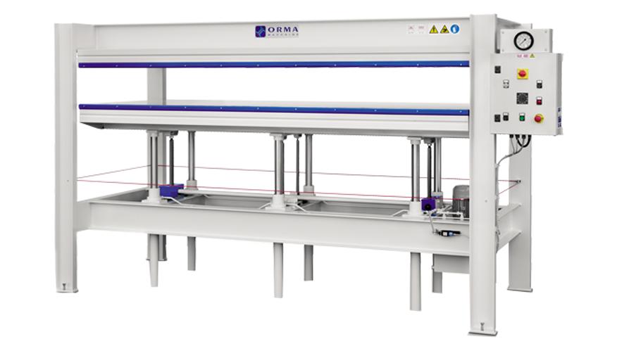 Горячий пресс C4 C6, производство ORMA Machine Италия