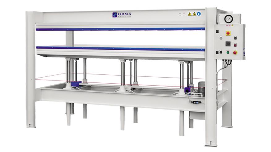 Холодный пресс P-S, производство ORMA Machine Италия