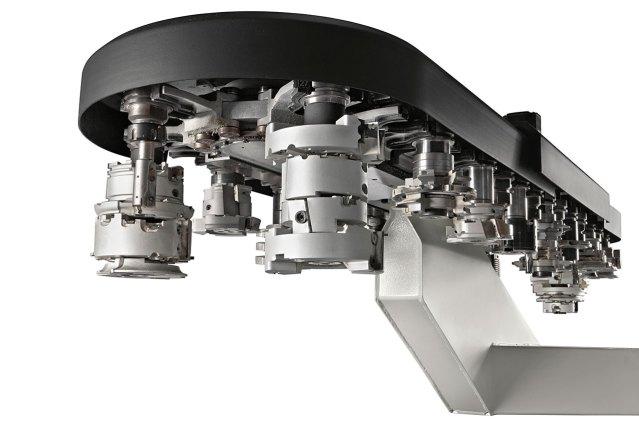 Магазин инструментов TRC48 станка с ЧПУ ACCORD 40 FX, производство SCM Италия