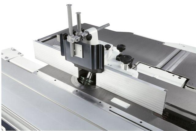 Кожух фрезера с системой регулировки линеек станка Minimax T 45C, производство SCM Италия
