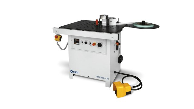 Кромкооблицовочный станок Minimax E 10, производство SCM Group (Италия)