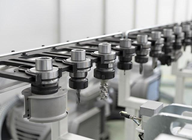 Магазин инструментов Morbidelli N200, производство SCM (Италия)