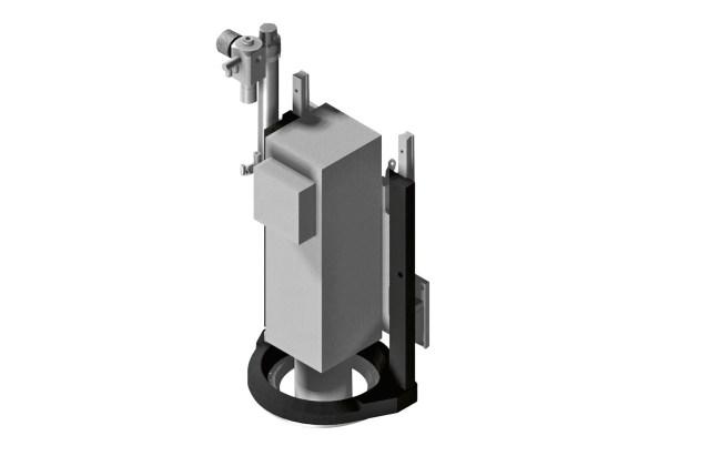 Механический коаксиальный прижим ACCORD 25 FX, производство SCM (Италия)
