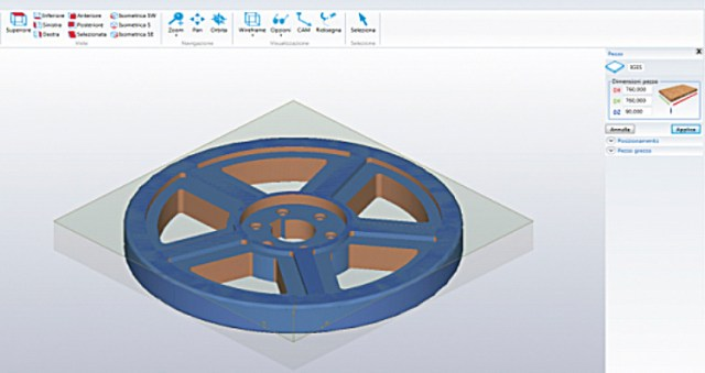 Модуль для создания трехмерных объектов Maestro 3d ACCORD 25 FX, производство SCM (Италия)
