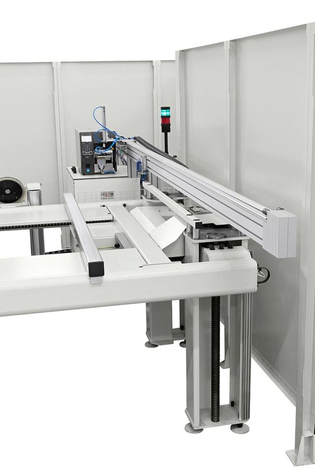 Принтер этикеток Morbidelli N200, производство SCM (Италия)