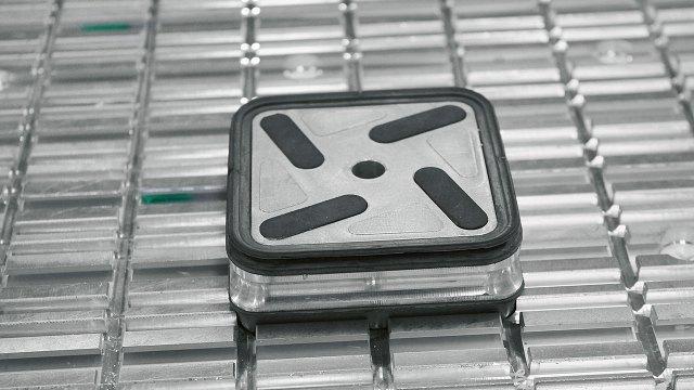 Присоска MF на рабочем столе ACCORD 25 FXM, производство SCM (Италия)