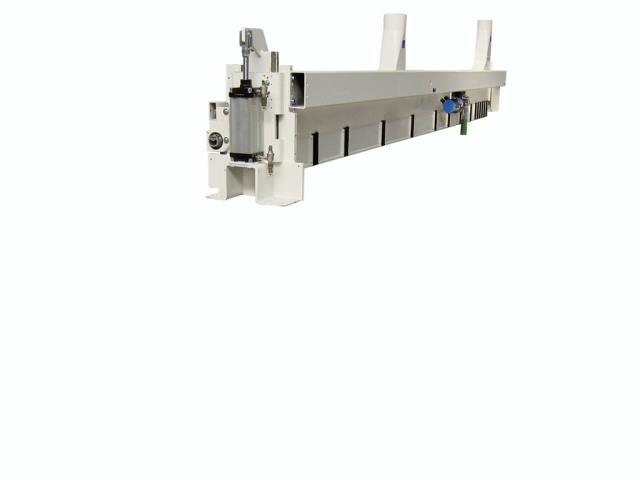 Прижимная балка 130-145 углового раскроечного центра Gabbiani A3, производство SCM Италия