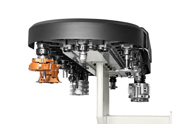 Задний цепной инструментальный магазин TRC на 32 места Morbidelli M 100/200, производство SCM (Италия)