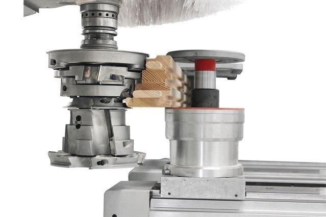 Зажим H145 на рабочем столе MATIC ACCORD 50 FX, производство SCM GROUP (Италия)