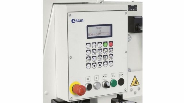 Панель управления кромкооблицовочного станка Minimax ME 40, производство SCM Италия