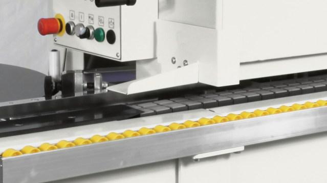 Транспортные трековые панели кромкооблицовочного станка Minimax ME 40, производство SCM Италия