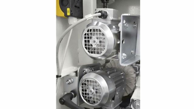 Кистевая группа кромкооблицовочного станка Minimax ME 40, производство SCM Италия