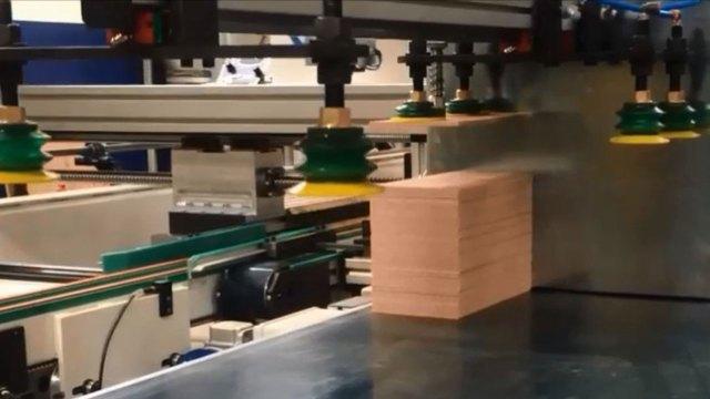 Работа SFA 90 Ваймы с автоматической загрузкой, производитель Fiorenza Италия