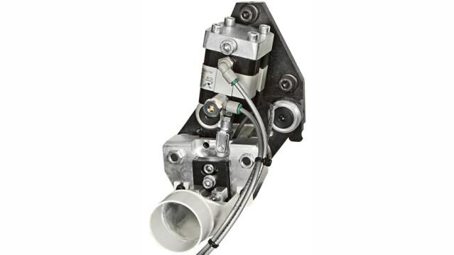 Клеево-скребковая группа кромкооблицовочного станка Olimpic K 230 EVO, производство SCM Италия