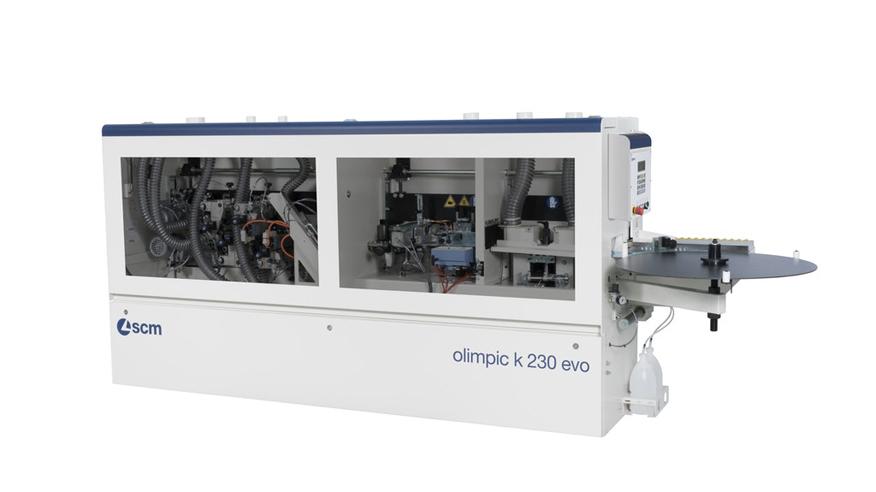 Кромкооблицовочный станок Olimpic K 230 EVO, производство SCM Италия