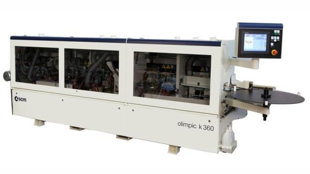 Кромкооблицовочный станок Olimpic K 360, производство SCM Италия