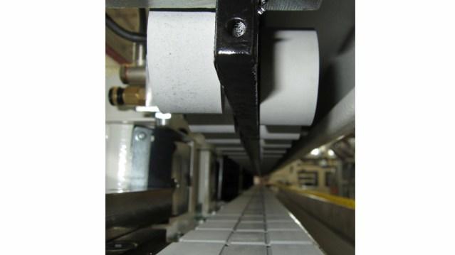 Верхний прижим кромкооблицовочного станка Olimpic K 230 EVO, производство SCM Италия