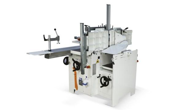 Универсальный многооперационный станок Minimax lab 300P, производство SCM Италия, подъемник