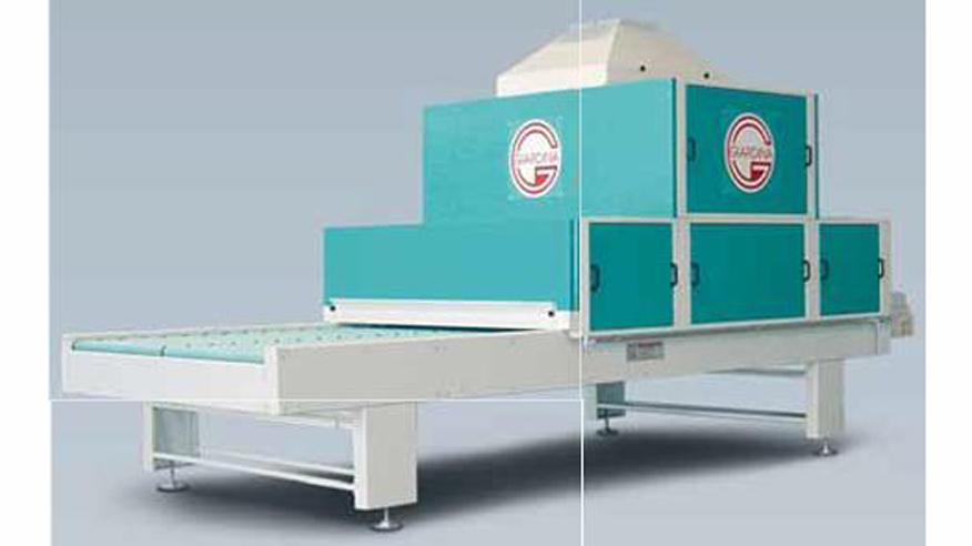 Туннель охлаждения JP COOL, производство Giardina Group Италия