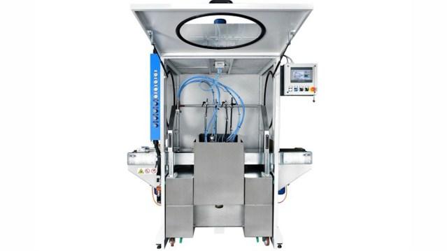 Автомат окраски распылением с 1 окрасочным контуром 1 VE, производство Giardina Group Италия