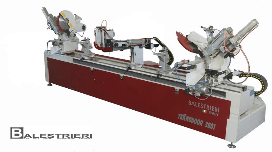 Деревообрабатывающий центр для дверных коробок Teknodoor 3001, производство Balestrieri Италия