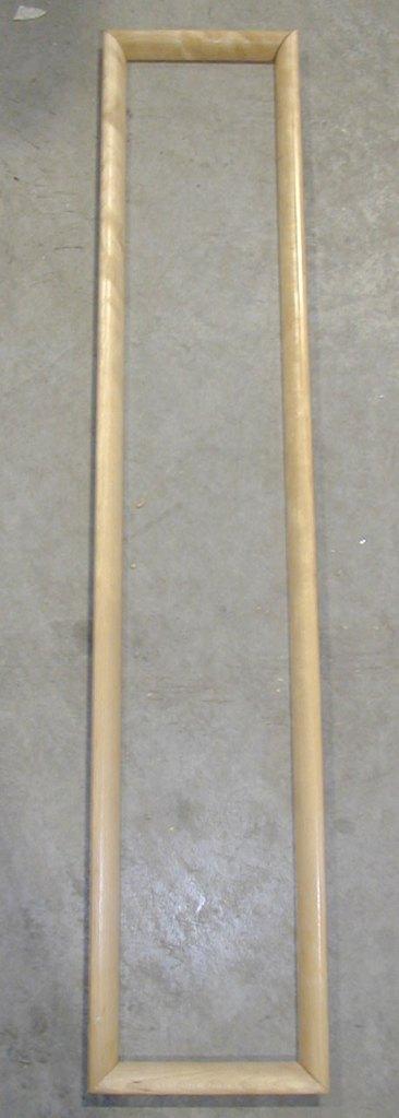 Багетная рамка, созданная на 5-ти  осевом станке с ЧПУ BTTF-E, производство Fiorenza Италия