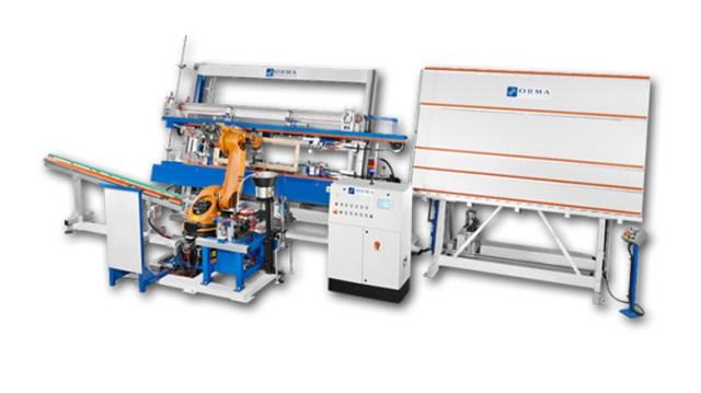 Автоматический пресс для сборки оконных и дверных переплетов FUTURA C.N.C EVOLUTION, производство Orma Macchine Италия