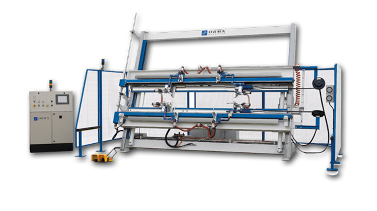 Гидравлическая сборочная вайма FUTURA CNC, производство Orma Macchine Италия