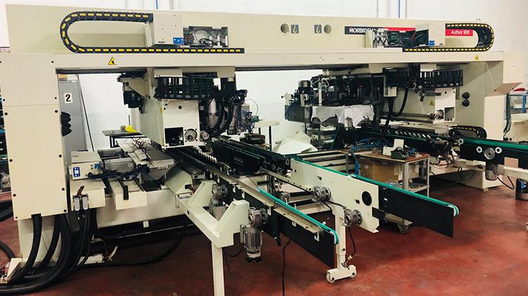 Гибкий сверлильный центр c ЧПУ высокой производительности Author 924, производство SCM Италия