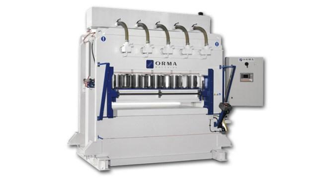 Гидравлический пресс для гофрирования PSA S, производство Orma Macchine Италия