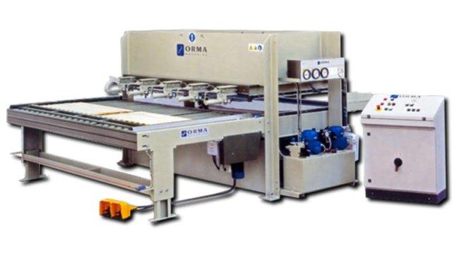 Пресс для склеивания мебельных щитов ORMA LS/ECO