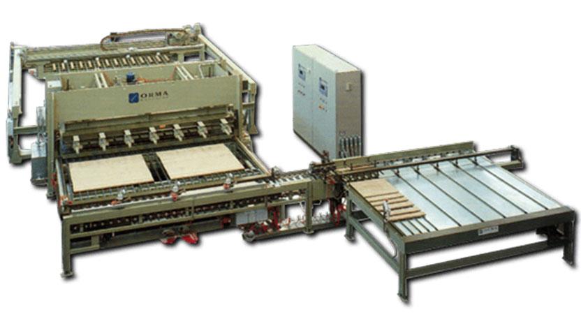 Пресс LS CA T1 ORMA, Италия. Линия по производству мебельного щита