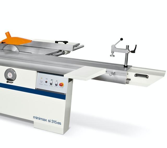 Дополнительный стол на каретке круглопильно-фрезерного станка Minimax ST 3C, производство SCM Италия