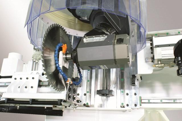 Пильный узел обрабатывающего центра с ЧПУ ARGO, производство Greda Италия