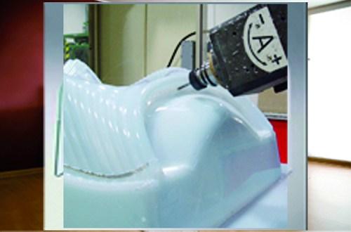 Пример обработки на обрабатывающем центре с ЧПУ ARGO GANTRY 5A FT, производство Greda Италия