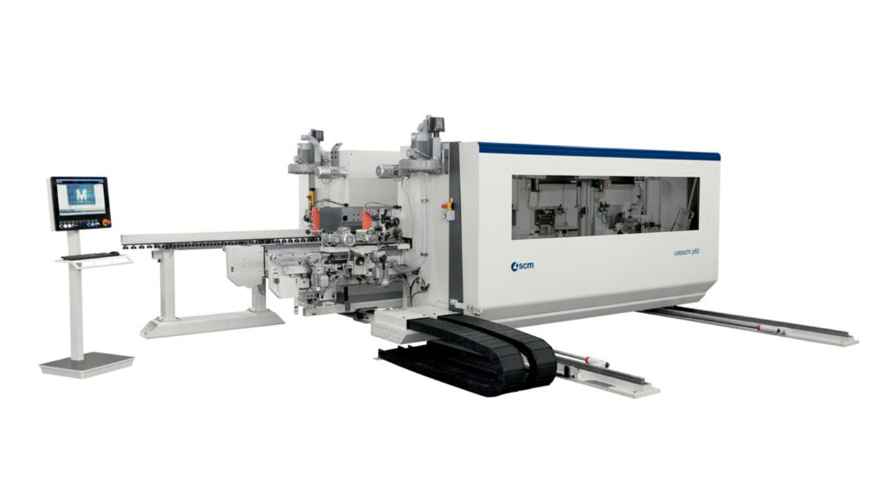 Автоматический двусторонний шипорезный станок Celaschi P 60 (Италия)